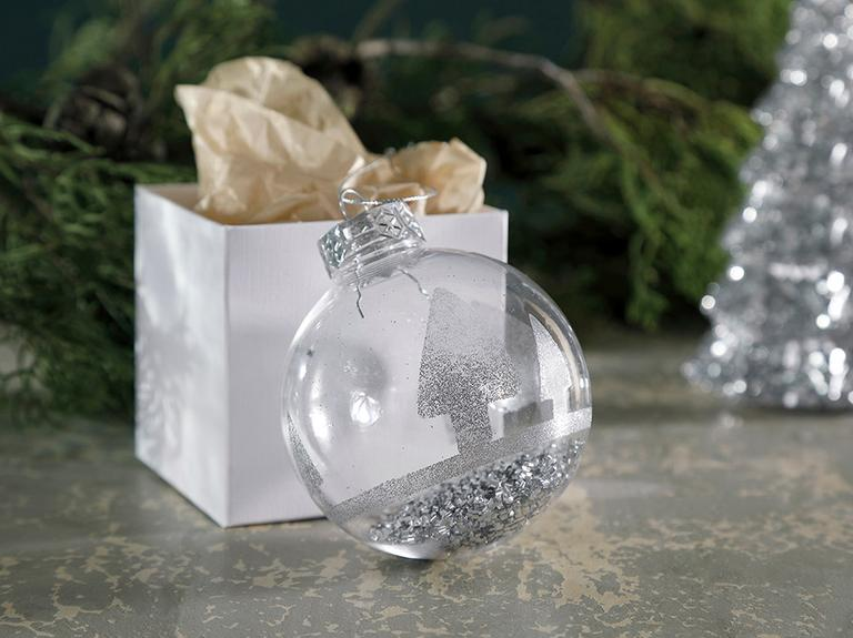 Christmas Stocking Polipropilen Askılı Aksesuar 10x8 Cm Şeffaf