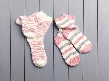 Pınk Lıne Polyester Bayan 2'li Çorap 39-41 Pembe