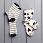 Stars Polyester Bayan 2'li Çorap 36-38 Lacivert
