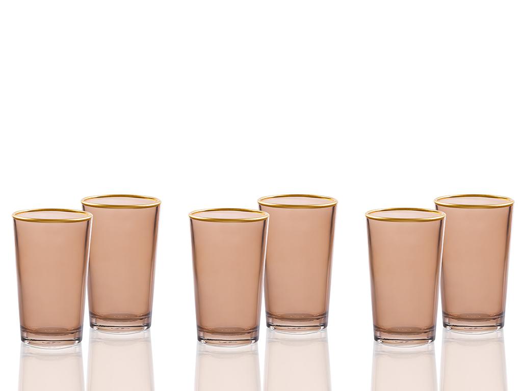 Tanya Cam 6'lı Kahve Yanı Su Bardağı 100 Ml Kahve