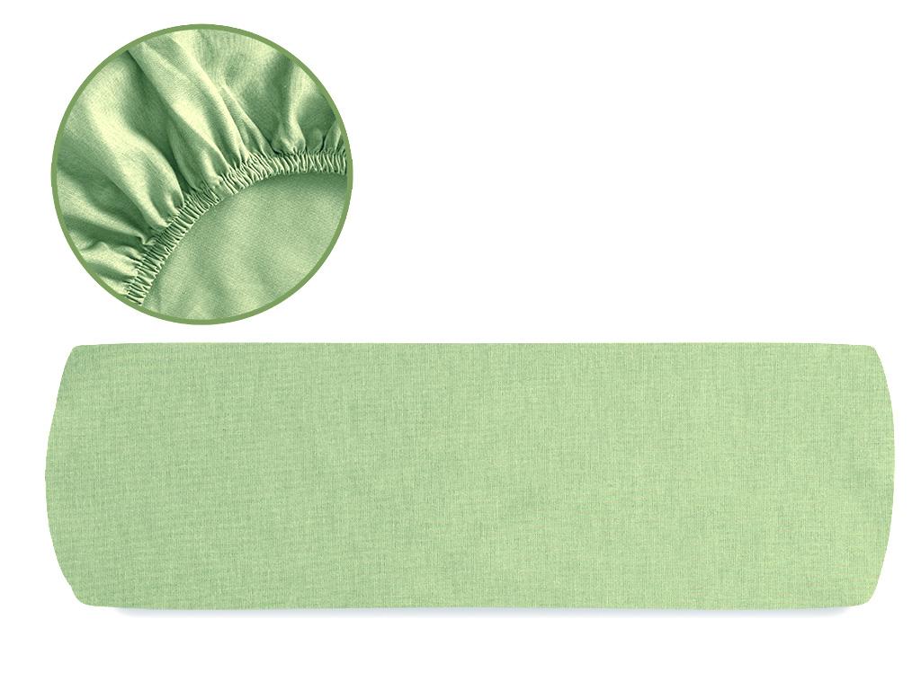 Düz 2 Pamuklu King Size Lastıklı Çarşaf 200x200 Cm Yeşil