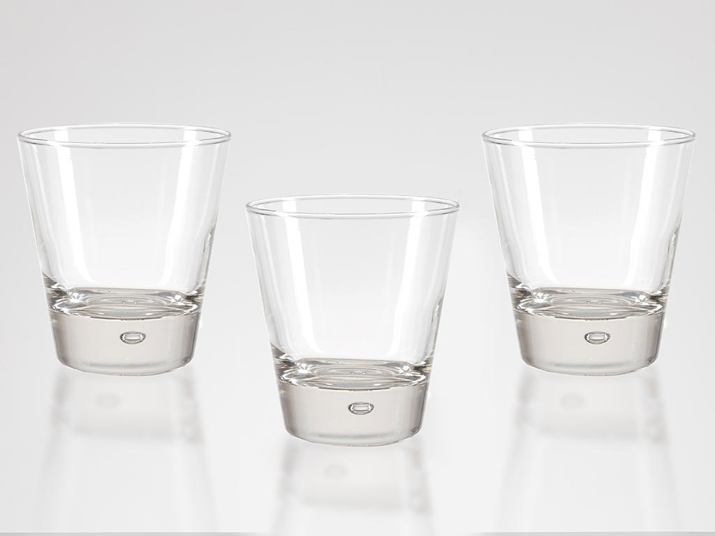 Lily Cam 3'lü Meşrubat Bardağı 330 Ml Şeffaf