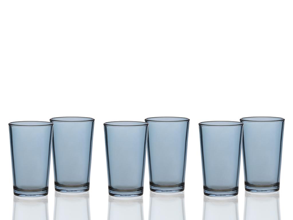Edwin Cam 6'lı Kahve Yanı Su Bardağı 100 Ml Kahve