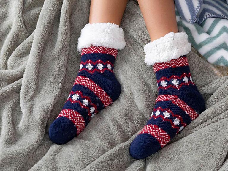 Winter Triko Kadın Çorap 36-38 Lacivert