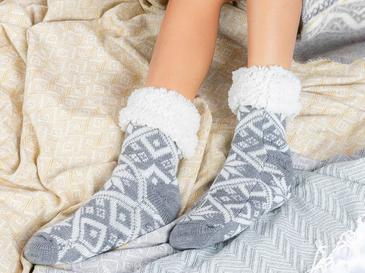Snowy Triko Bayan Çorap 39-41 Gri