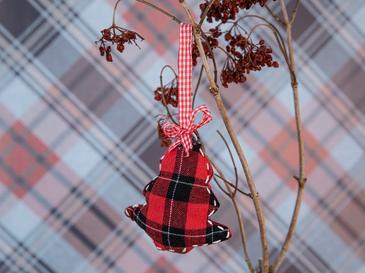 Tree Askılı Aksesuar 11x12x3 Cm Kırmızı