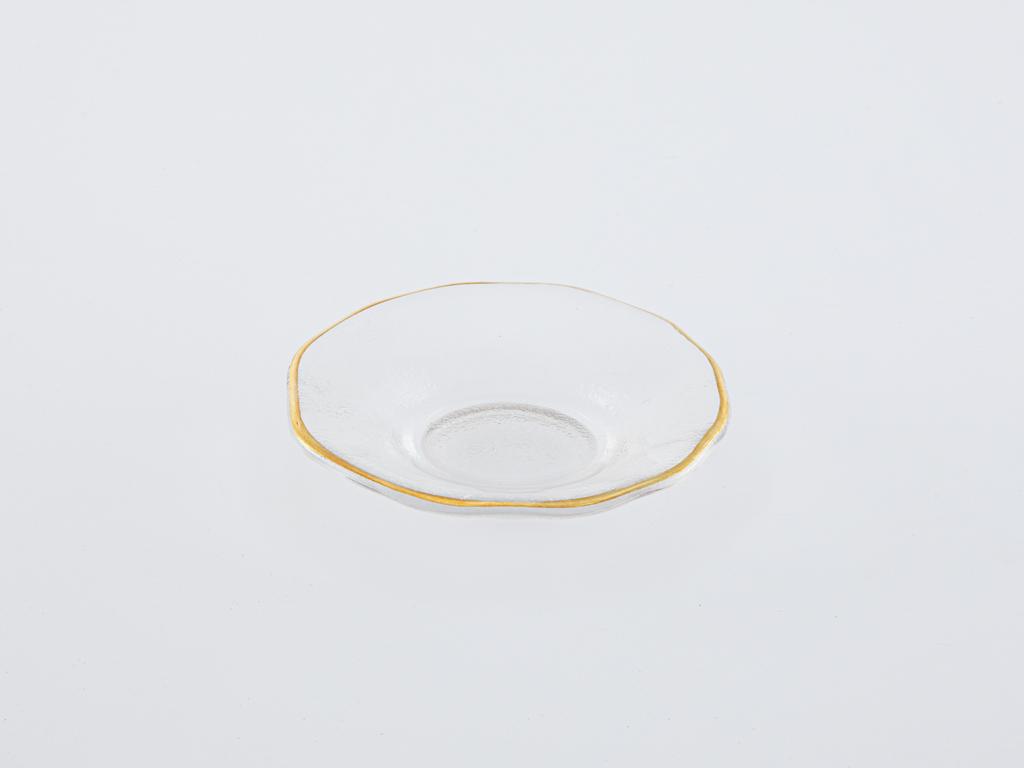 Round Cam Çerezlik 9.5x1.8 Cm Şeffaf