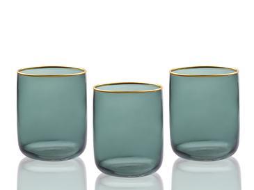 Dorny Cam 3'lü Meşrubat Bardağı 270 Ml Yeşil