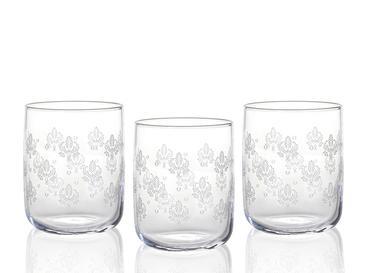 Alder Cam 3'lü Meşrubat Bardağı 270 Ml Gümüş