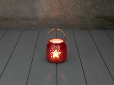 Stars Mumluk 8x8x8 Cm Kırmızı