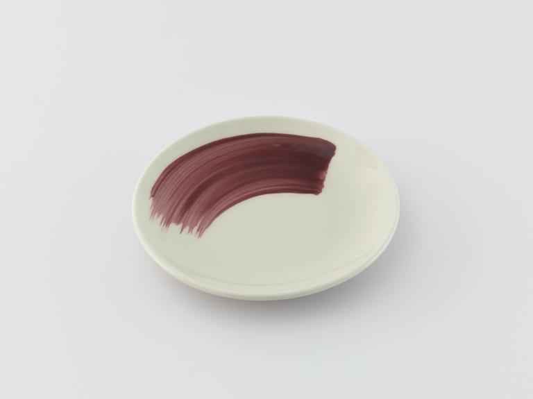 Jana Porselen Pasta Tabağı 15 Cm Mürdüm