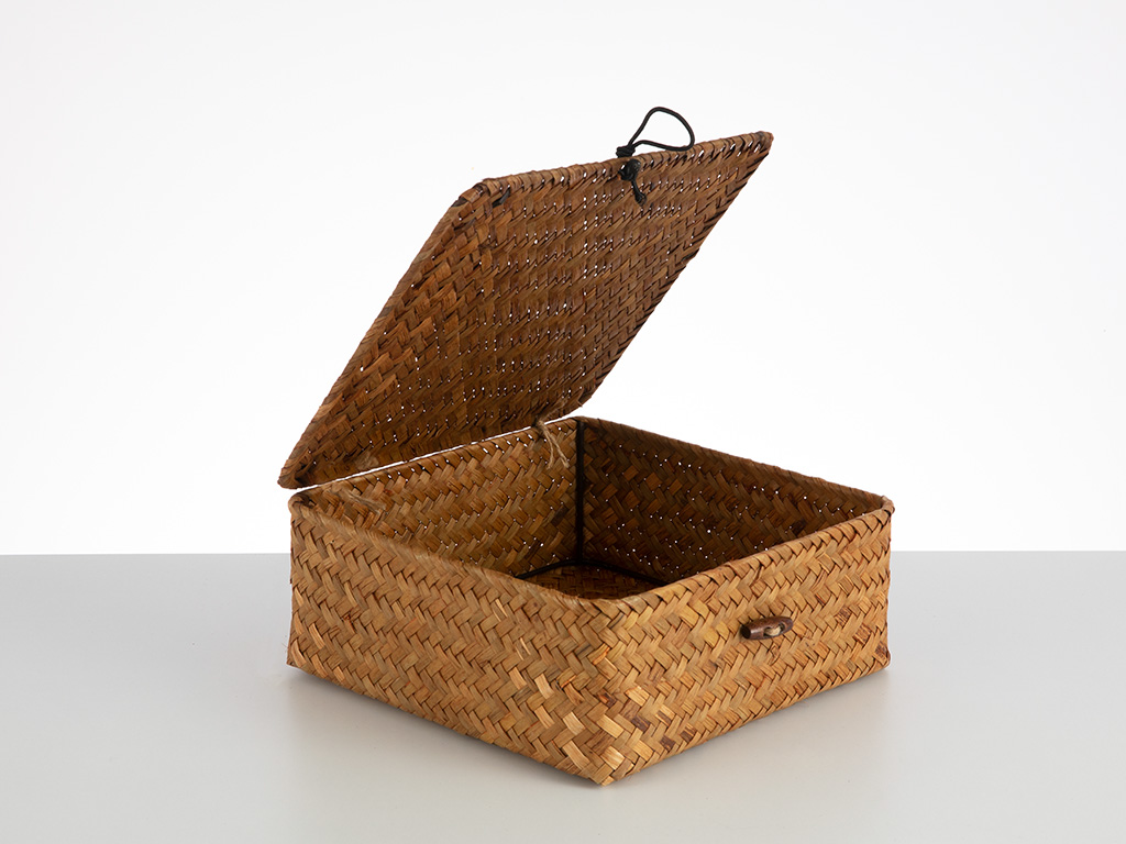 Fiil-in Box Saklama Kutusu 21x21x8 Cm Kahve