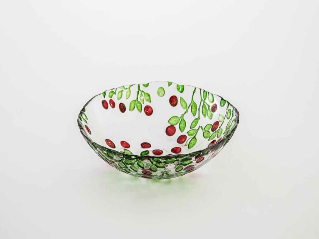 Berry Cam Kase 16 Cm Kırmızı - Yeşil
