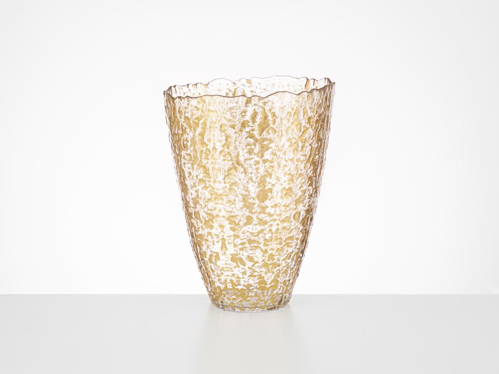 Diamonds Vazo 24 Cm Gold