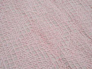 Gloria Banyo Paspası Seti 60x90-40x60 Cm Pembe