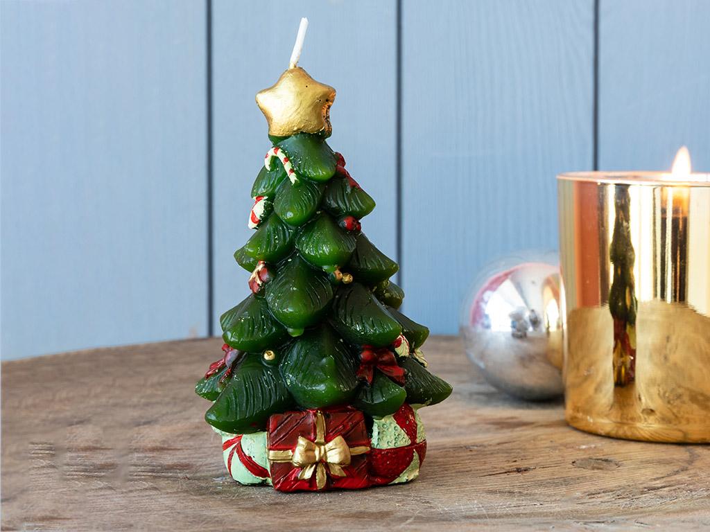 Christmas Tree Mum 7,5x12 Cm Yeşil