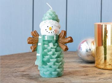 Snow Man Mum 8x6,5x11 Cm Yeşil