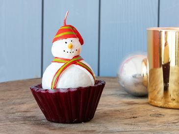 Cupcake Mum 7,2x7,2x10 Cm Kırmızı