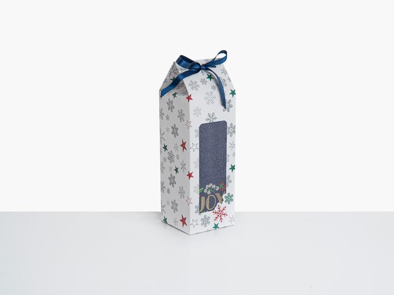 Joy Yd Nakışlı Paketli Hediyelik Havlu 40x60 Cm Lacivert