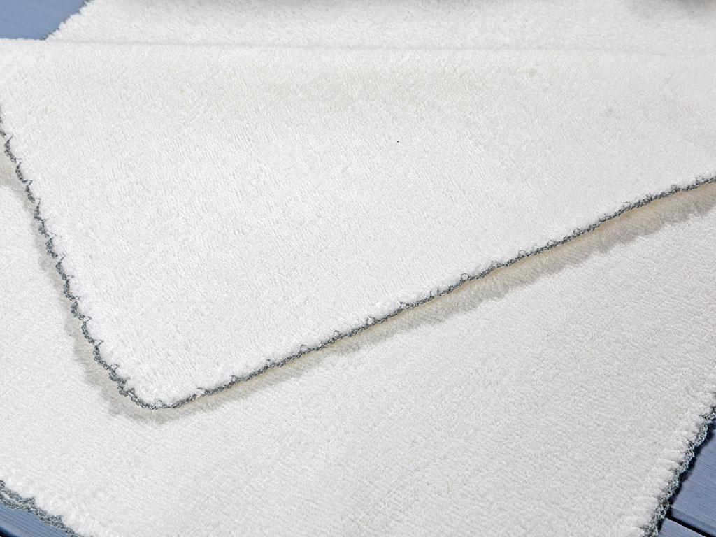Towel Pamuk 6'lı Bebek Ter Havlusu 28x28 Cm Krem