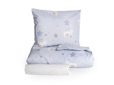 Sleepy Rabbit Pamuklu Bebe Nevresim Takımı 100x150 Cm Mavi