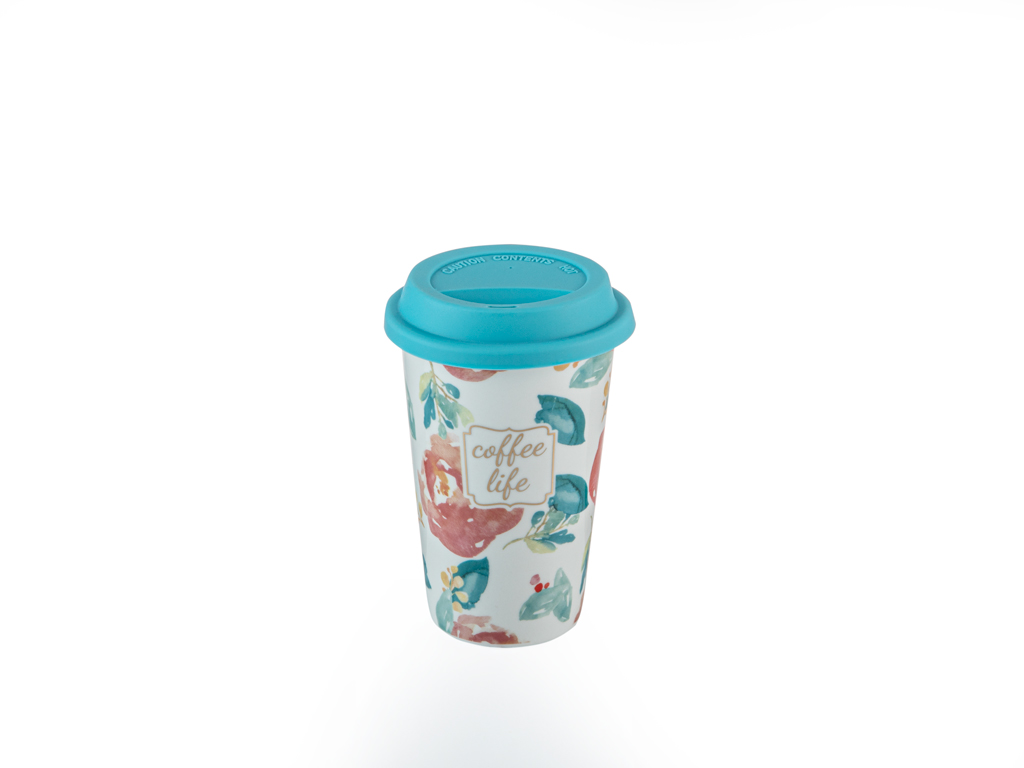 Mint Rose New Bone Travel Mug 350 Ml Mint