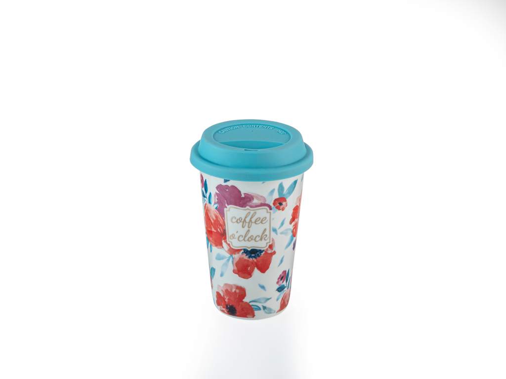 Purple Hat New Bone Travel Mug 350 Ml Mor