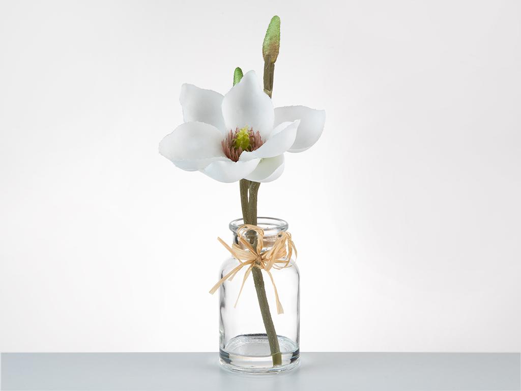 Tropic Dream Soft Plastic Yapay Çiçek 5,2x5,2x21cm Beyaz