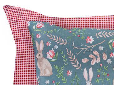 Woodland Pamuklu 2'li Çocuk Yastık Kılıfı 50x70 Cm Yeşil