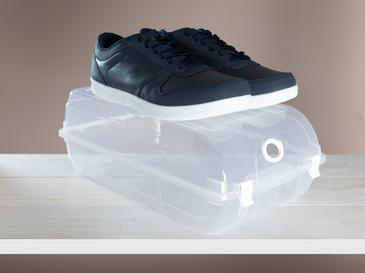 Fancy Ayakkabı Saklama Kutusu 36x21x13 Cm Şeffaf