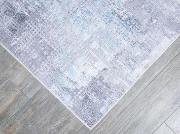 Eidola Şönil Halı 160x230 Cm Mavi - Gri