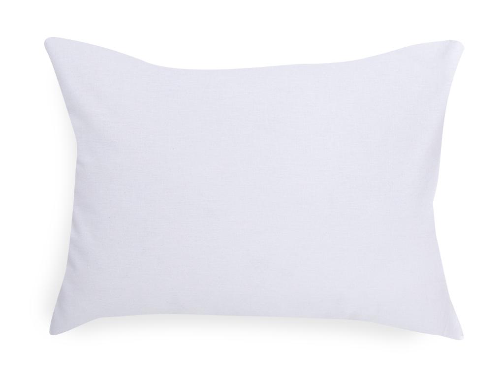 Soft Pamuklu Bebe Yastık Kılıfı 35x45 Cm Beyaz