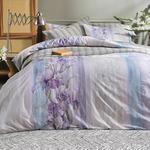 Pure Iris Pamuklu King Size Nevresım Setı 240X220 Cm Lila