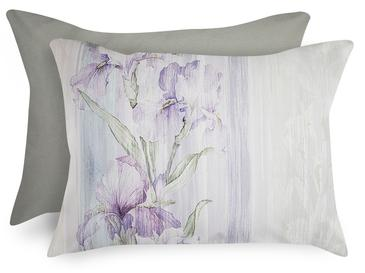 Pure Iris Pamuklu 2'li Yastık Kılıfı 50x70 Cm Lila