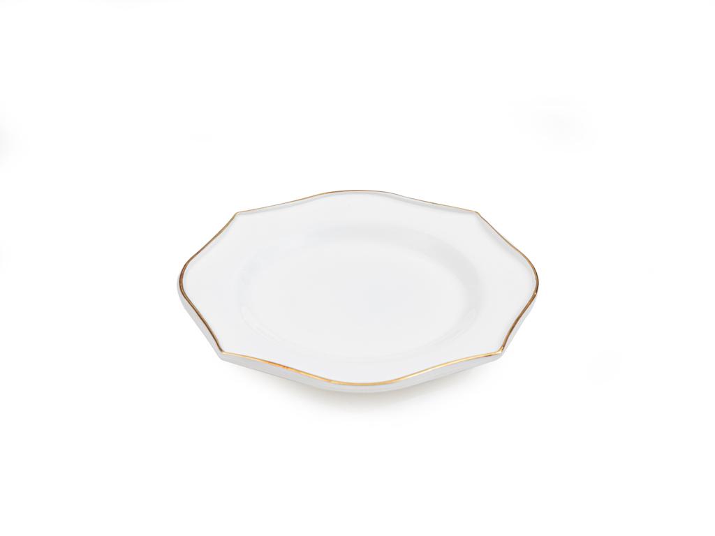 Fiesta Opal Cam Pasta Tabağı 22 Cm Beyaz