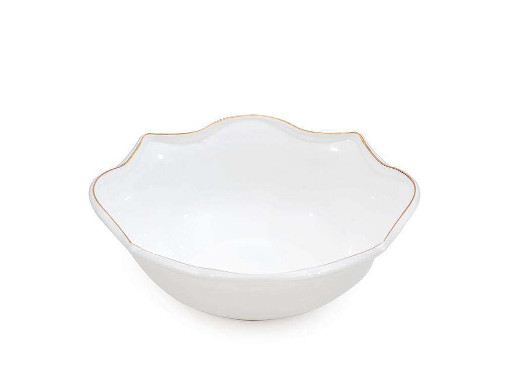 Fiesta Opal Cam Salata Kase 27 Cm Beyaz