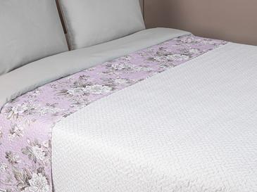 Florence Tek Kişilik Çok Amaçlı Yatak Örtüsü 160x220 Cm Lila