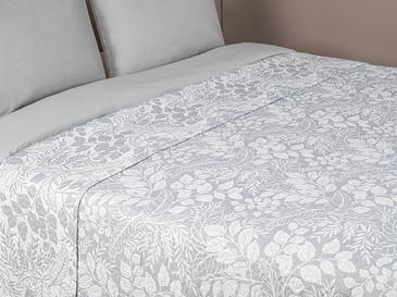 Eliza Tek Kişilik Çok Amaçlı Yatak Örtüsü 160x220 Cm Gri