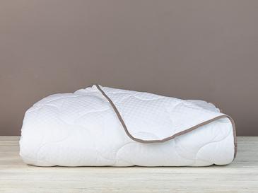 Deluxe Saten Tek Kişilik Yorgan 155x215 Cm Beyaz