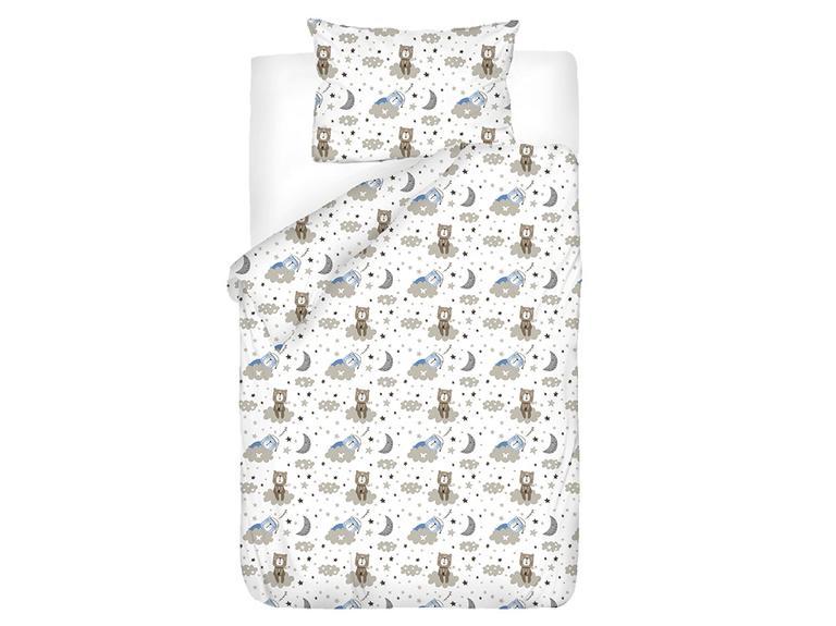 Sleepy Bear Pamuklu Bebe Nevresim Takımı 100x150 Cm Mavi