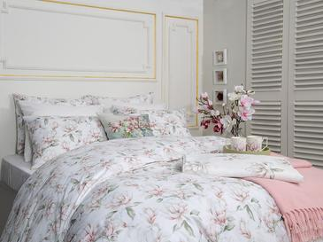 Magnolia Pamuklu Çift Kişilik Nevresim Seti 200x220 Cm Pembe