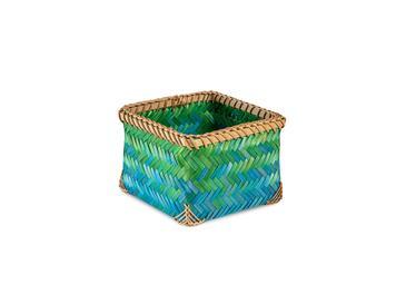 Chester Sepet 20x20x14 Cm Mavi - Yeşil