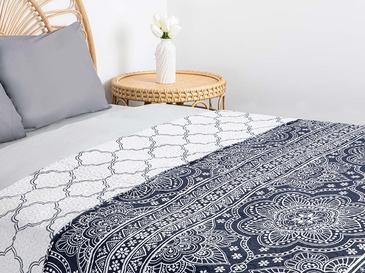Ferrol Çift Kişilik Çok Amaçlı Yatak Örtüsü 200x220 Cm İndigo