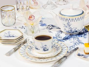 Tual New Bone 2'li Çay Fincanı Takımı 220 Ml Mavi