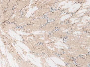 Pure Fleur Banyo Paspası Seti 60x90 Cm + 50x60 Cm Bej - Gri - Krem