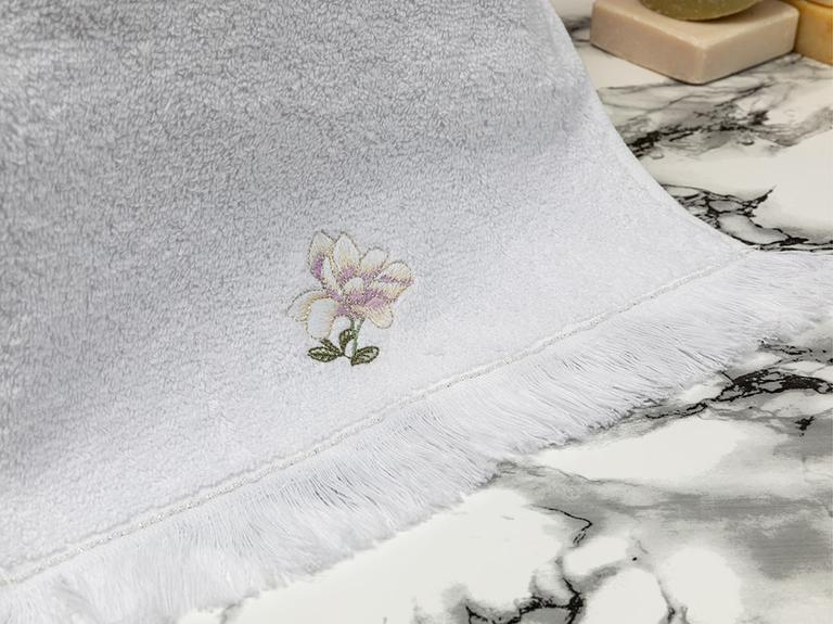 Magnolia Nakışlı El Havlusu 30X45 Cm