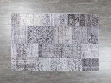 Gaynor Patchwork Halı 120x180 Cm Gri