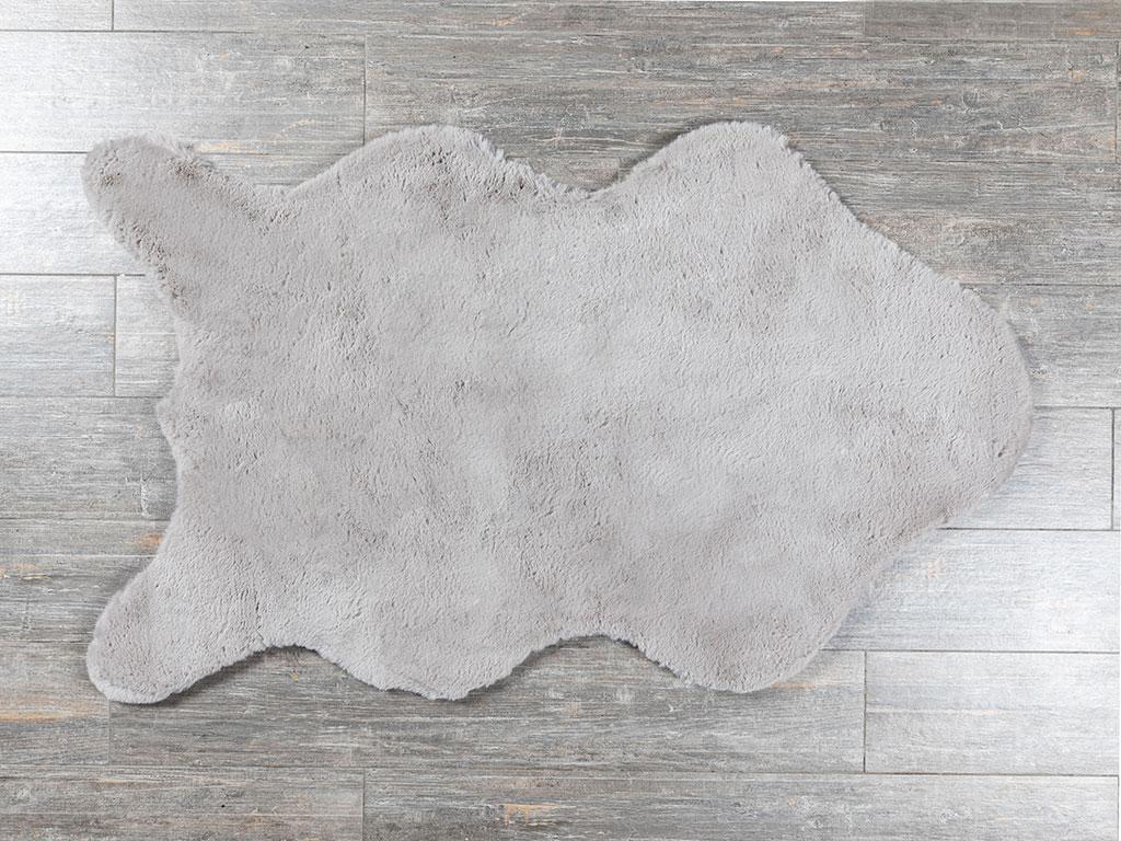 Rabbit Polyester Post 90x150 Cm Gri