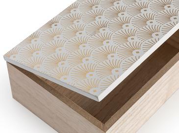 Truff Home Mdf Dekoratif Kutu 12x17x6 Cm Beyaz