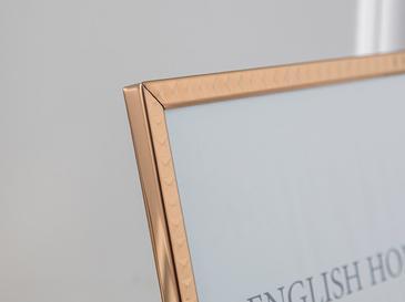 Bright Future Aluminum Çerçeve 20x25 Cm Gold